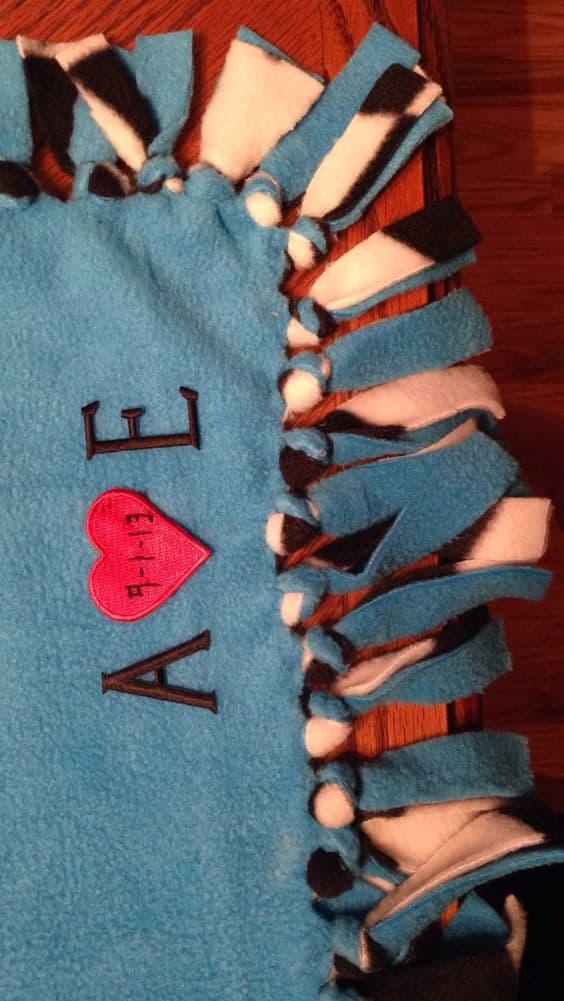 A Tie Blanket