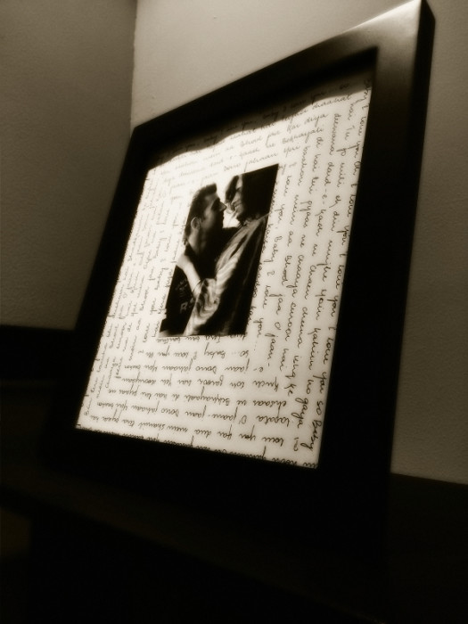 Favorite Song Picture Frame