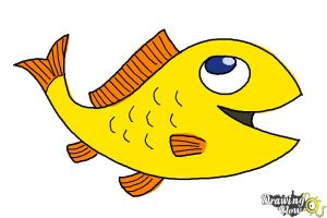 Easy Things To Draw When You Are Bored Fish