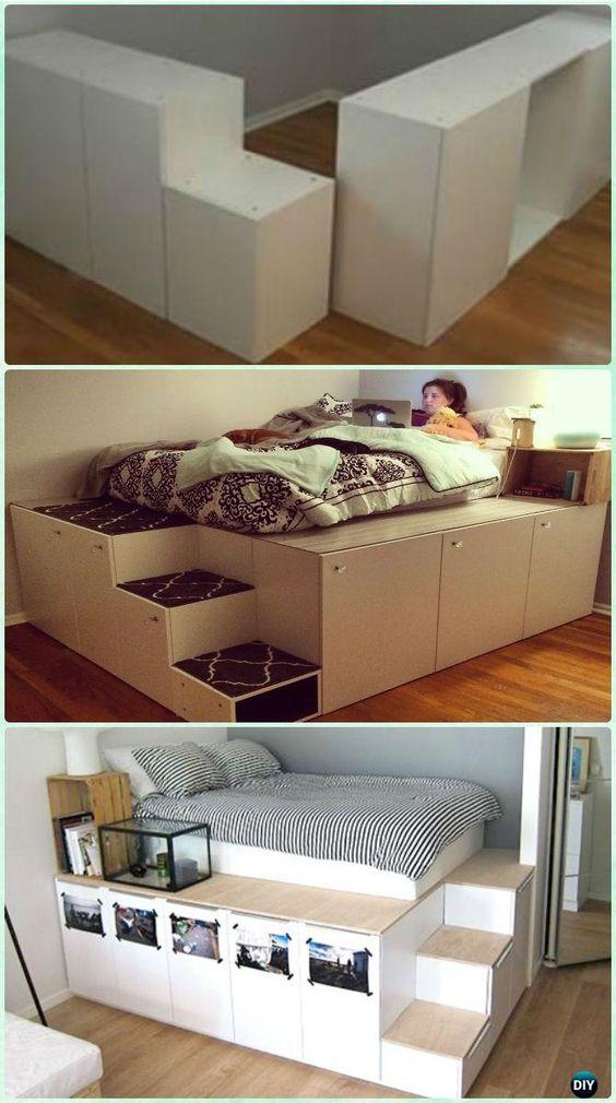 Kitchen Cabinet Style Platform Bed
