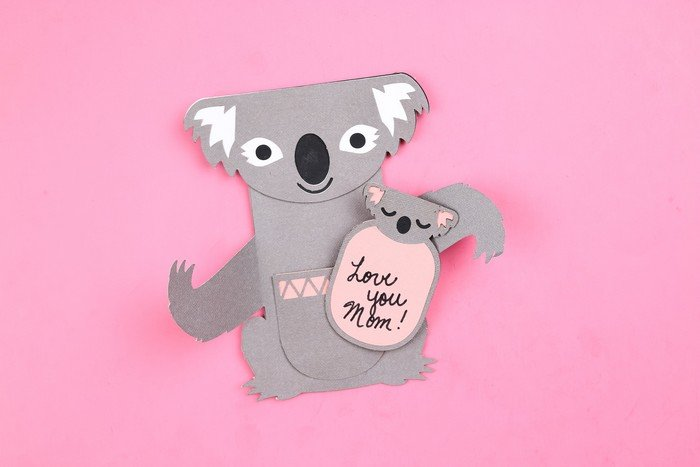 Koala Birthday Card