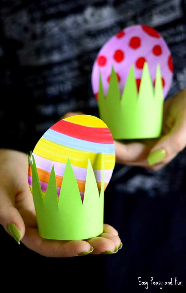 Easter paper crafts paper easter egg