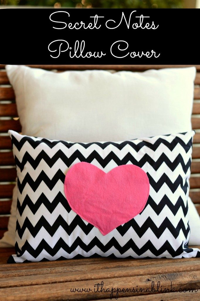 Secret Notes Envelope Pillow Cover