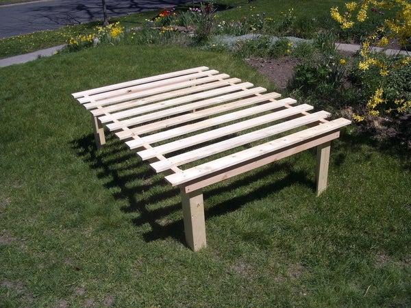 Simple Low-waste Platform Beds