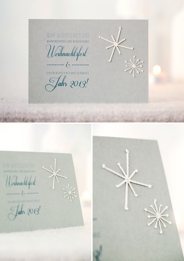 Touch of Embroidered Invitation