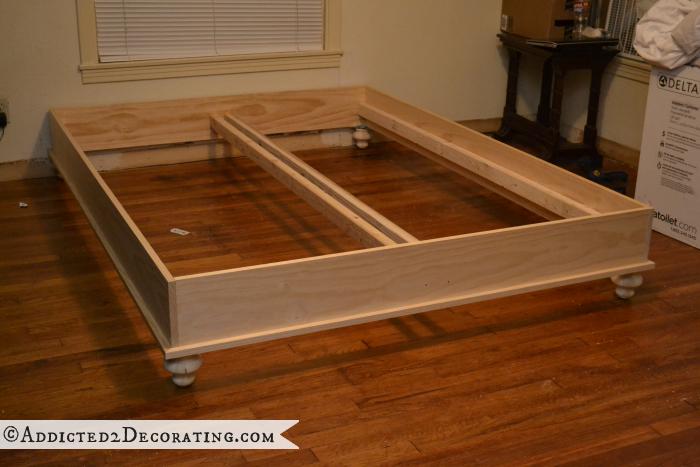 Wood Raised Diy Platform Bed