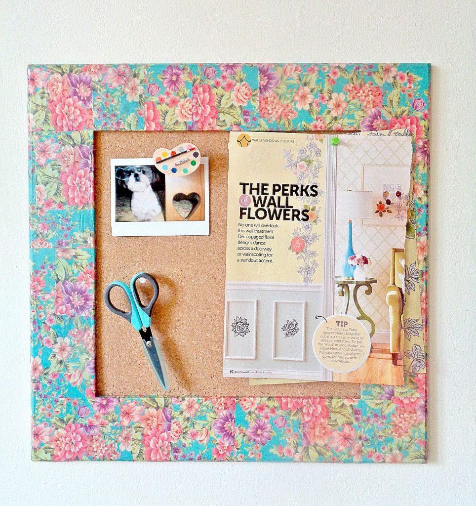 creative homemade gifts Corkboard