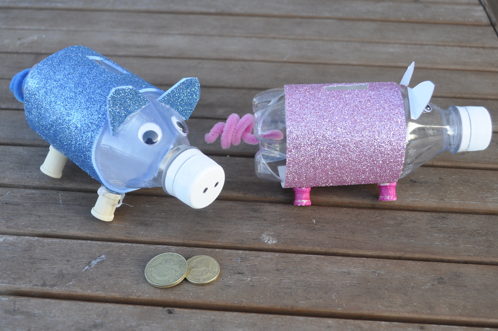 Bottle Piggy Bank