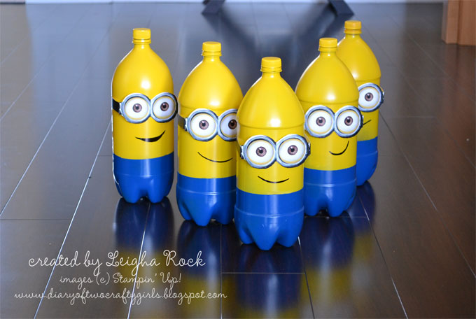 Plastic Bottle Crafts Bowling bottles