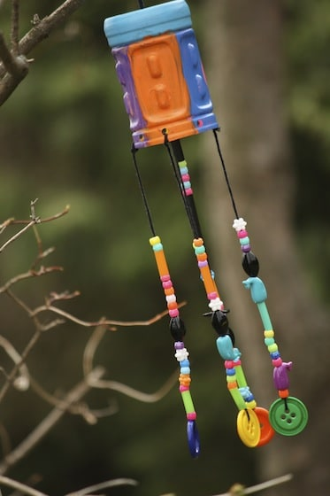 Plastic Bottle Crafts wind chimes