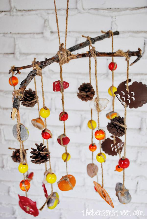 Wind Chime Fall Crafts for Kids