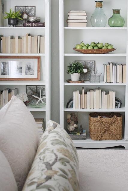 Theme DIY Built-in Bookshelves