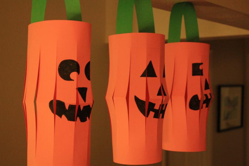 Halloween Crafts for Preschoolers jack-o-lantern