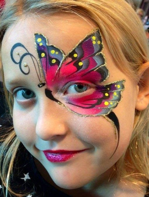 Butterfly Face Paint Ideas