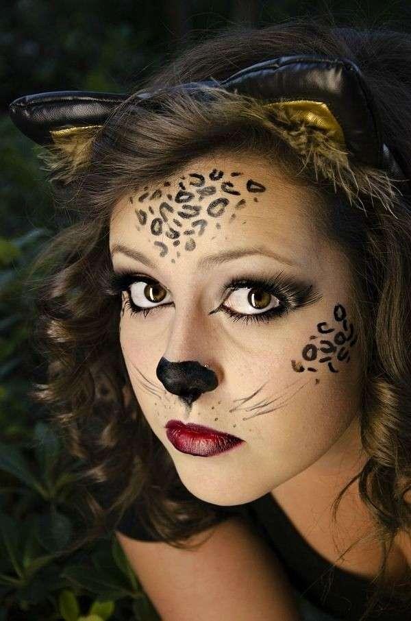 Cat Face Paint Ideas