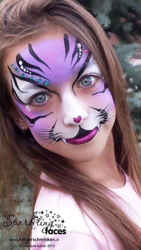 Tiger Face Paint Ideas