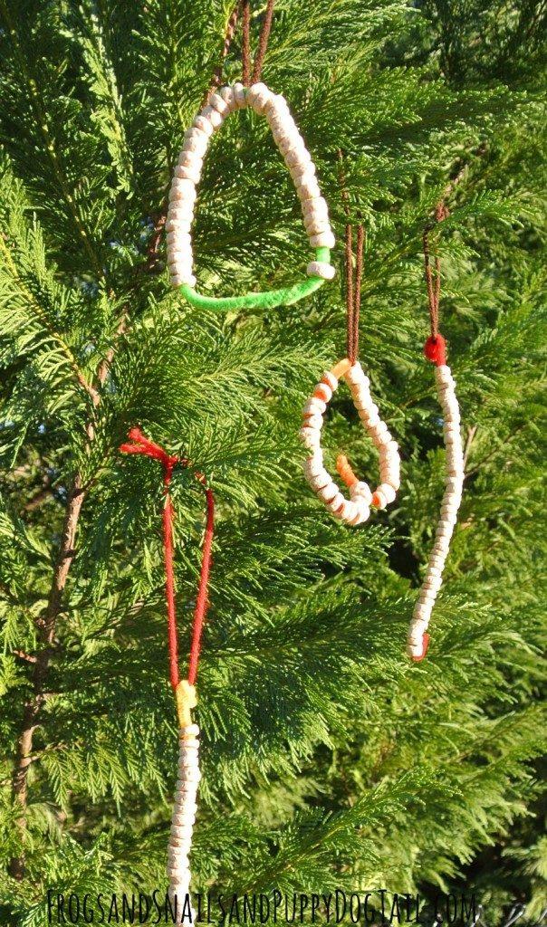 DIY Bird Feeder Ideas Ornaments
