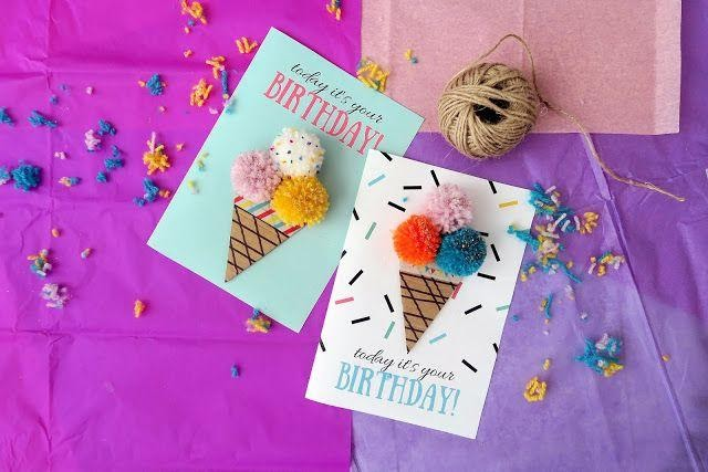 Icecream Birthday card