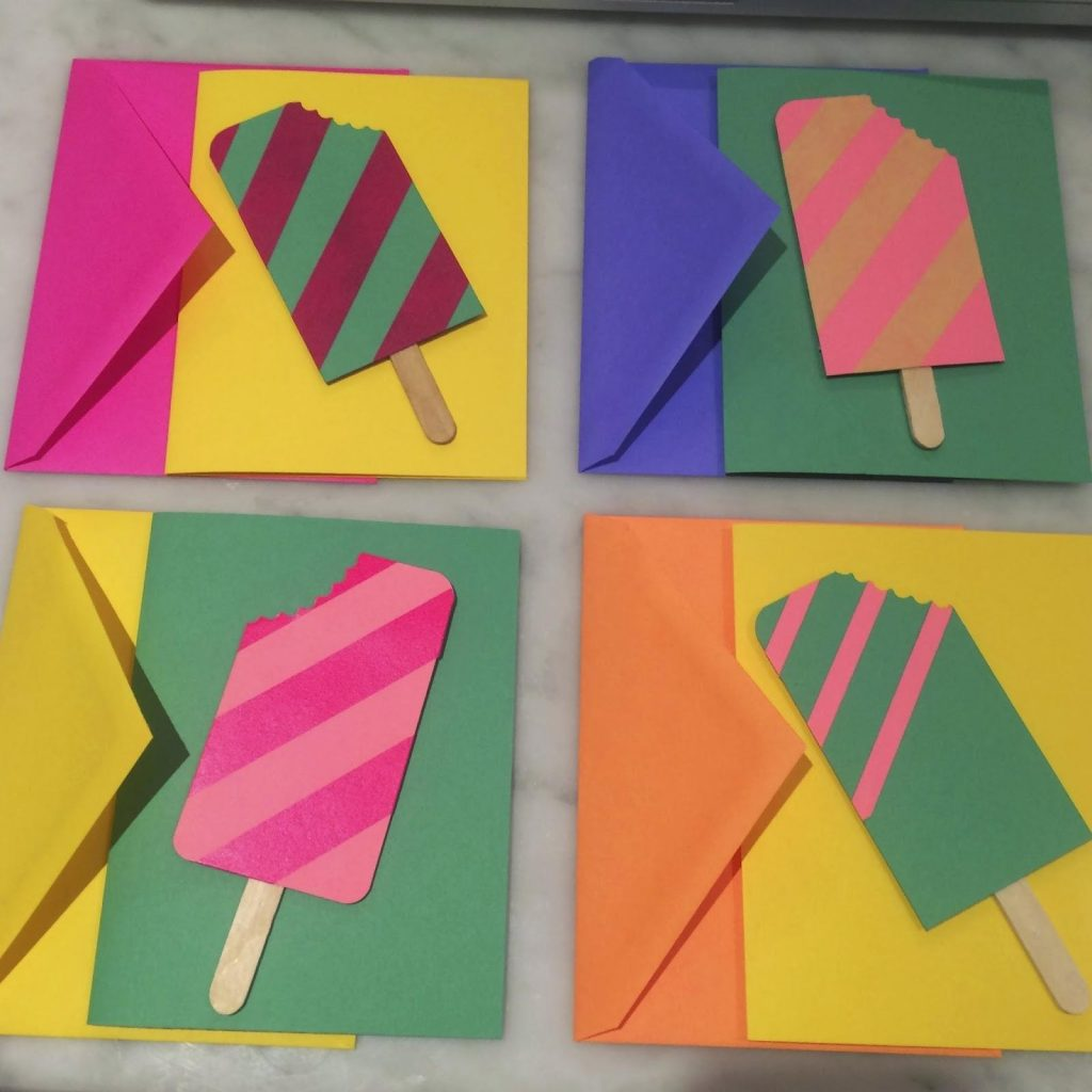 Popsicle Thank You Card
