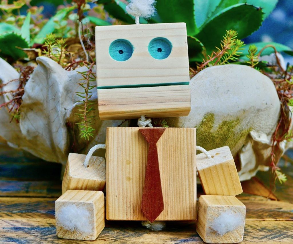Woodworking Project for Kids Robot