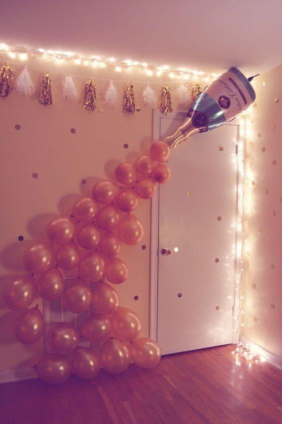 Balloon Bubble Fountain