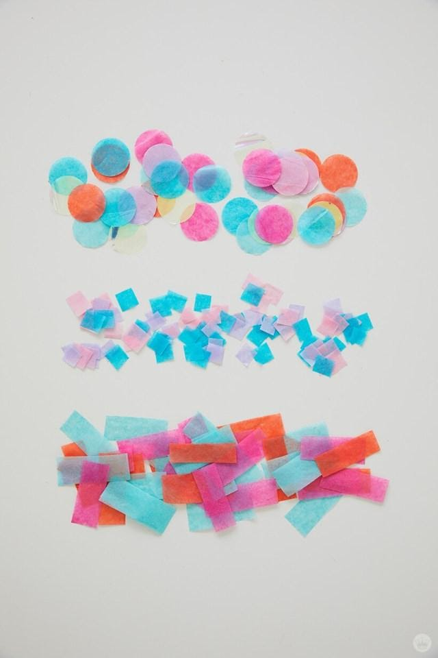 Birthday Decoration Ideas At Home Confetti