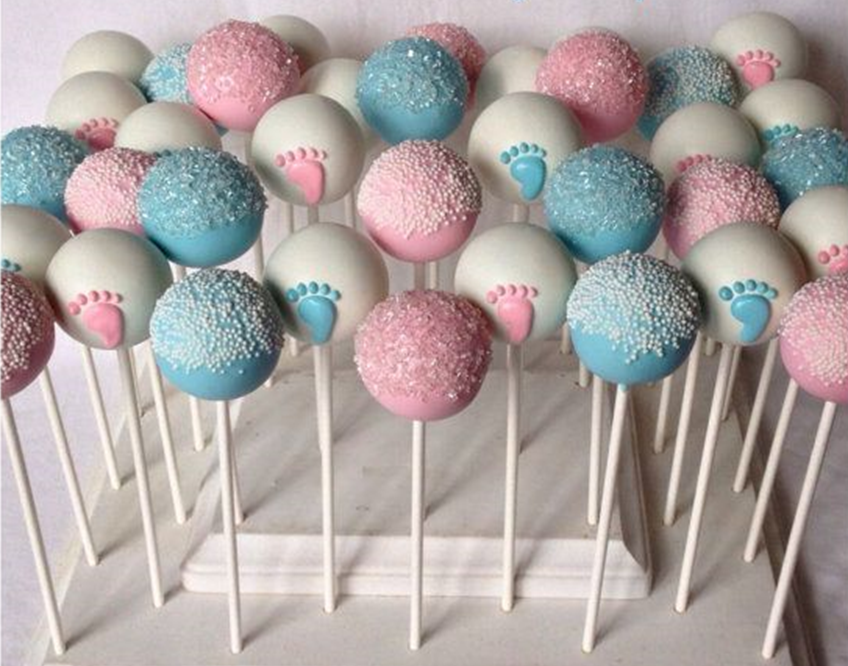 Raspberry or Blueberry Cake pops