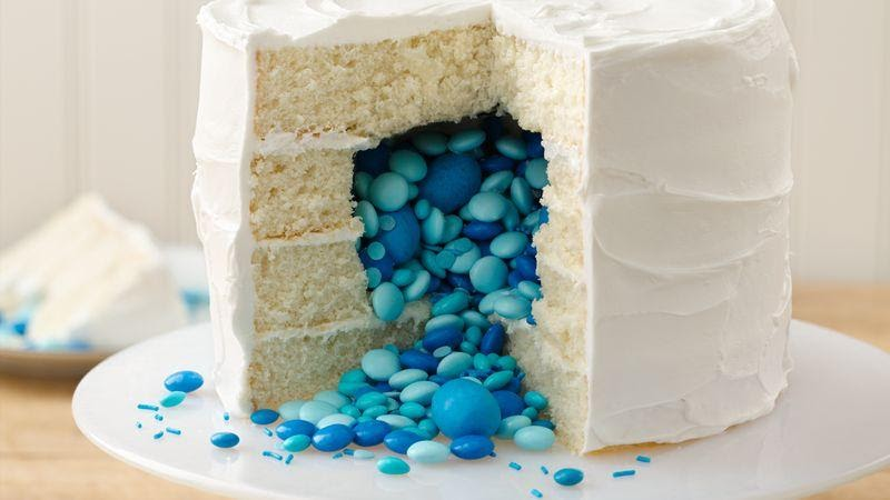 Surprise Gender Reveal Cake Ideas
